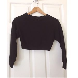 American Apparel Ribbed Crop Top